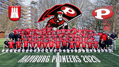 Hamburg Pioneers Team 2020 - Bild 2